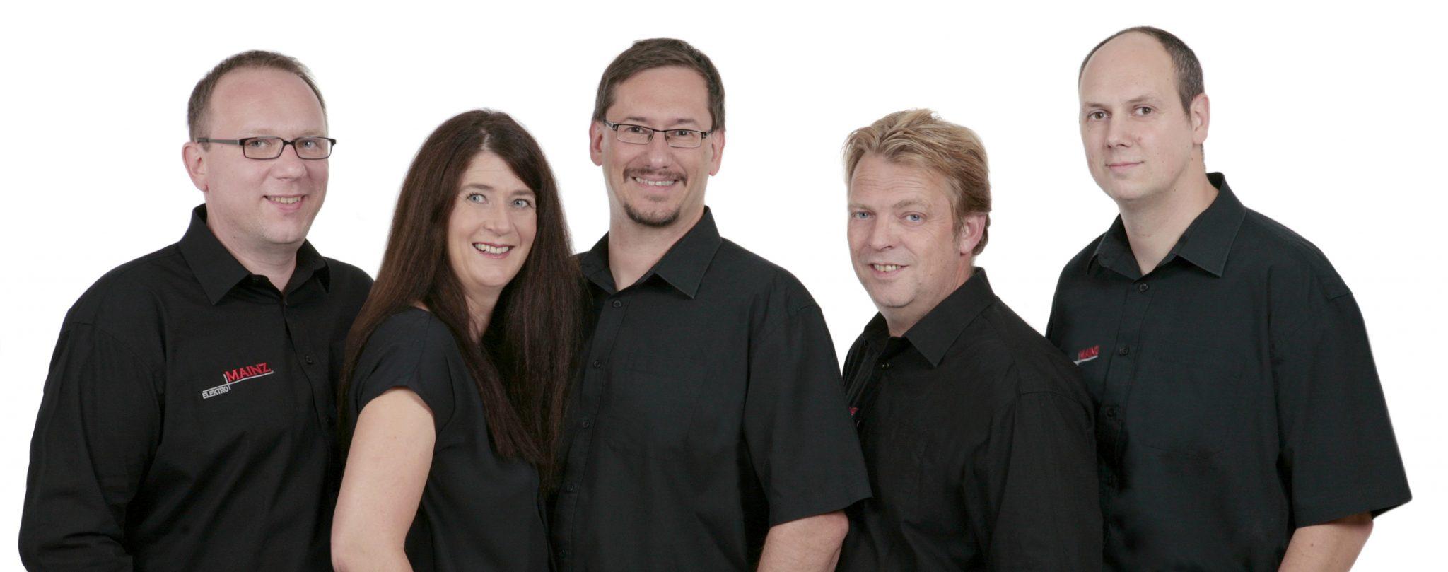 Das Team von Elektro Mainz