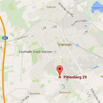 Übersicht von Google Maps